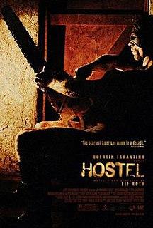 <i>Hostel</i> (2005 film) 2005 film directed by Eli Roth