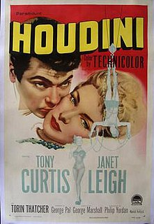 <i>Houdini</i> (1953 film) 1953 film by George Marshall