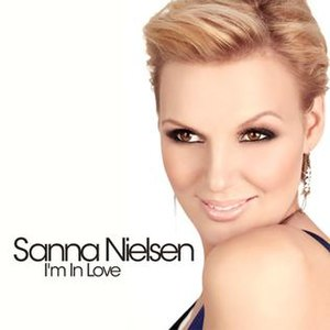 I'm in Love (Sanna Nielsen album) - Image: I'm in Love Sanna Nielsen