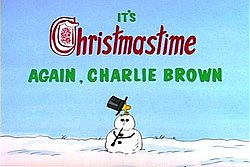 It's Christmastime Again, Charlie Brown - Wikipedia