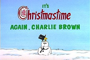 It's Christmastime Again, Charlie Brown - Image: Icacb 1