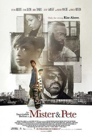 The Inevitable Defeat of Mister & Pete - Theatrical release poster