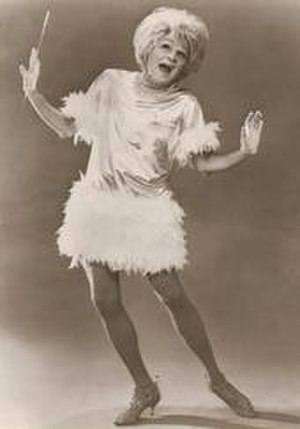 Jim Bailey (entertainer) - Bailey as comic actress Phyllis Diller