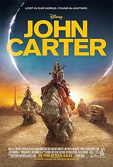 220px John carter poster JOHN CARTER: Is it really doomed?