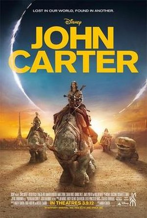 John Carter (film) - Theatrical release poster