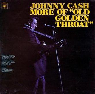 More of Old Golden Throat - Image: Johnny Cash More Of Old Golden Throat