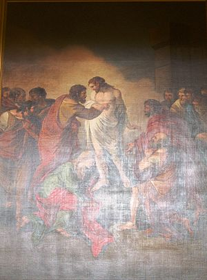 Joseph Barney - The Apparition of Our Lord to St. Thomas (1784)