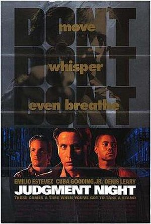 Judgment Night (film) - Theatrical release poster