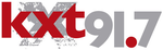 KXT 91.7 logo from pre-launch publicity materials