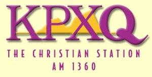 KPXQ - Image: KPXQ logo