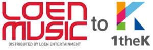 LOEN Entertainment - The logos of LOEN Music and 1theK
