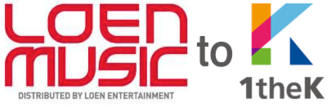 LOEN Entertainment - The logos of LOEN Music and 1theK