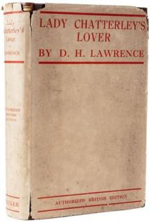 <i>Lady Chatterleys Lover</i> 1928 novel by D. H. Lawrence