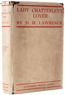 Lady chatterley's lover 1932 UK (Secker).png