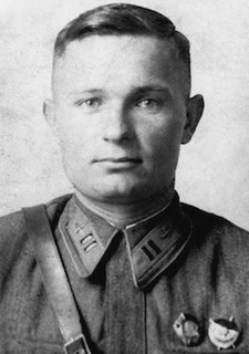 Lev Shestakov Soviet flying ace
