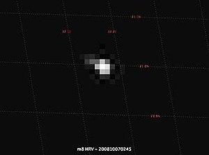 2008 TC3 - Image: M8 HRV 200810070245