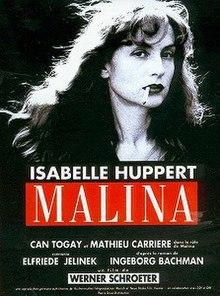 Malina 1991 Film Poster Jpg