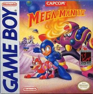 Mega Man IV (Game Boy) - North American cover art