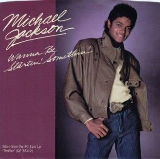 Wanna Be Startin' Somethin' - Image: Michael jackson wanna be startin somethin epic us vinyl seven inch