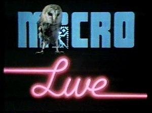 Micro Live - Micro Live title card