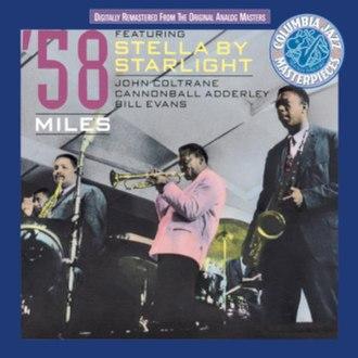 1958 Miles - Image: Miles Davis 1958 Miles reissue cover