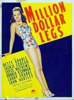 <i>Million Dollar Legs</i> (1939 film) 1939 film by Edward Dmytryk, Nick Grinde