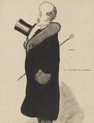 Lionel Monckton - Caricature of Monckton
