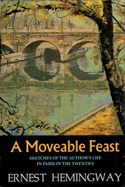 Picture of a book: A Moveable Feast
