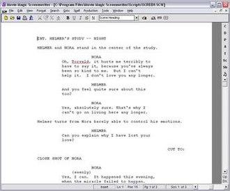 Movie Magic Screenwriter - Image: Movie Magic Screenwriter