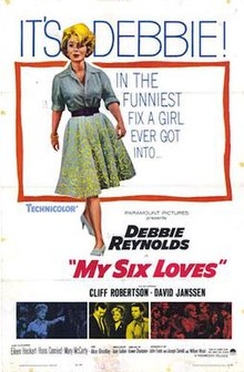 My Six Loves 1963 poster.jpg
