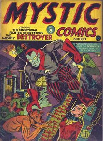 Al Gabriele - Image: Mystic Comics 8