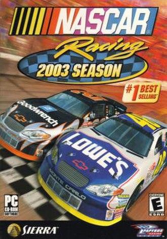 NASCAR Racing 2003 Season - Image: NASCAR Racing 2003 Season boxart