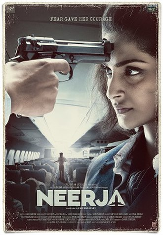 Neerja - Theatrical release poster