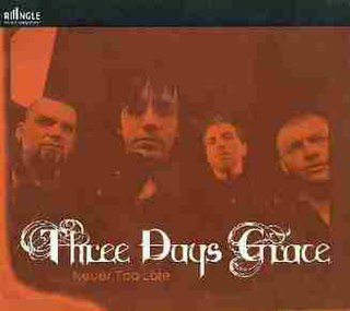 Never Too Late (Three Days Grace song) 2007 single by Three Days Grace