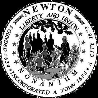 Official seal of Newton, Massachusetts