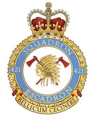 No. 421 Squadron RCAF - Image: No. 421 Squadron RCAF badge