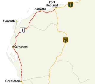 North West Coastal Highway highway in Western Australia