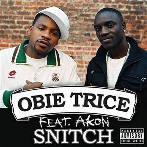 Snitch (song) - Image: Obie Trice Snitch single cover