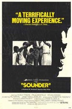Sounder (film) - Image: Original movie poster for the film Sounder
