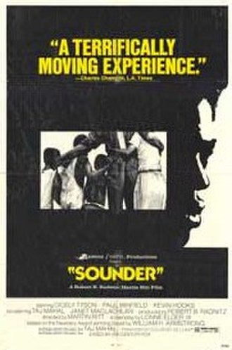 Sounder (film) - Image: Original movie poster for the film Sounder