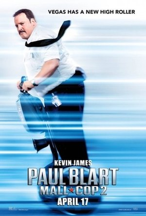 Paul Blart: Mall Cop 2 - Theatrical release poster