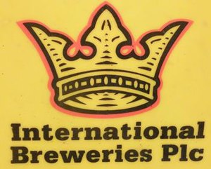 International Breweries plc - Image: Photograph of International Breweries Plc logo