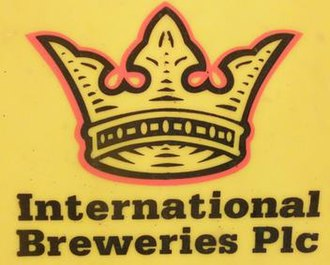 International Breweries plc - Image: Photograph of International Breweries Plc logo