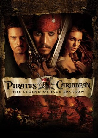 Pirates of the Caribbean: The Legend of Jack Sparrow - Cover art