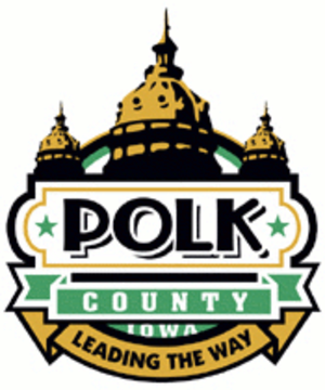 Polk County, Iowa - Image: Polk County IA logo