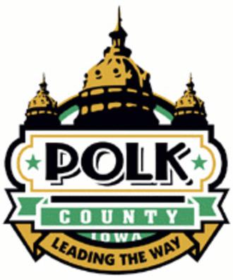Polk County, Iowa - Image: Polk County IA logo