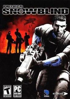 <i>Project Snowblind</i> Video game