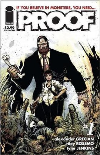 Proof (comics) - Cover of the first issue