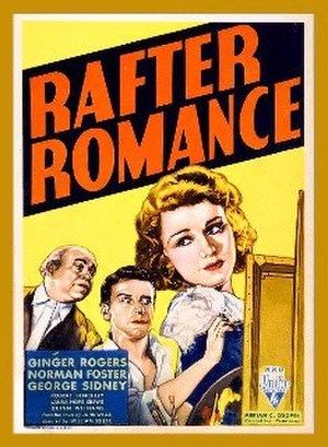 Rafter Romance - theatrical release poster