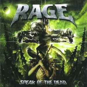 Speak of the Dead - Image: Rage speak of the dead